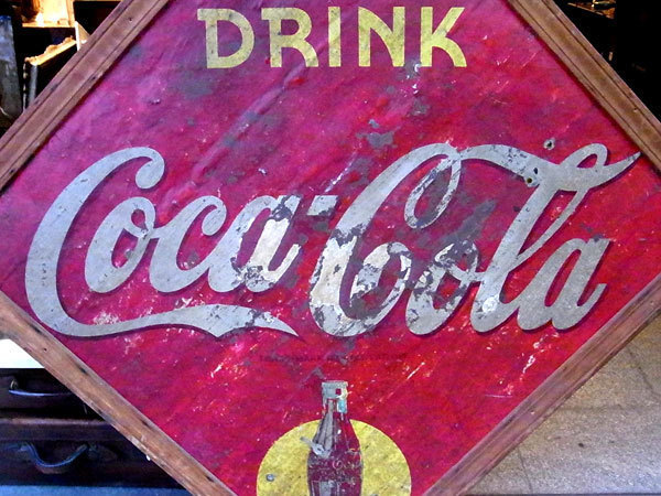 Coca-Cola コカ・コーラ 看板_画像2