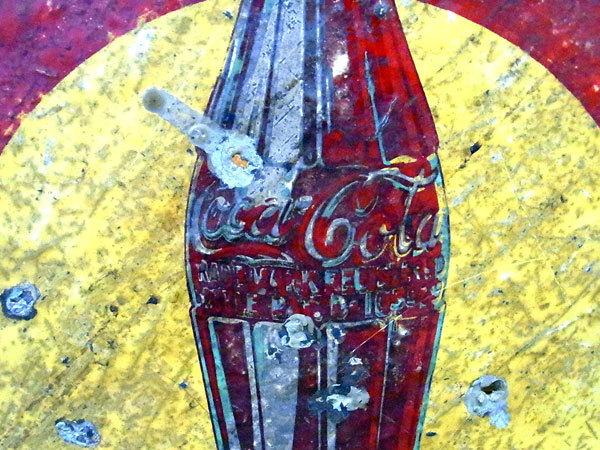 Coca-Cola コカ・コーラ 看板_画像5
