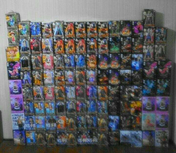 ワンピース未開封フィギュア111体まとめ売り。造形王頂上決戦、grandline、グランドライン、グラメン、MSP