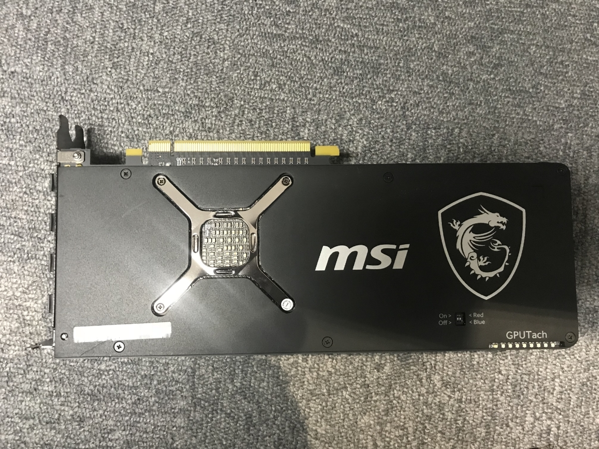 MSI 中古■ Radeon RX Vega 56 Air Boost 8G OC ①_画像2