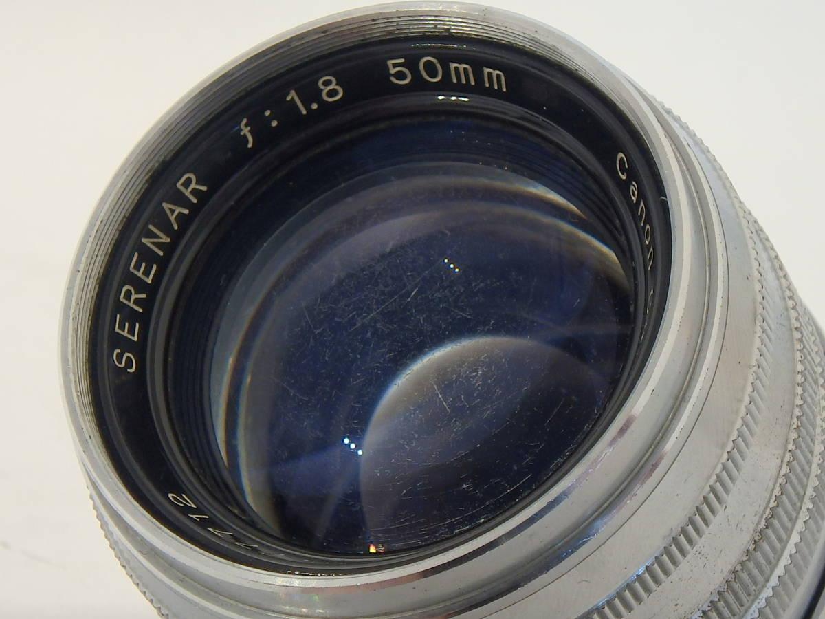 Canon SERENAR 50mm F1.8 for LEICA screw L39 希少なセレナ―レンズ!SUMMICRON に匹敵 価値あるオールドキヤノンをコレクションに!_画像10