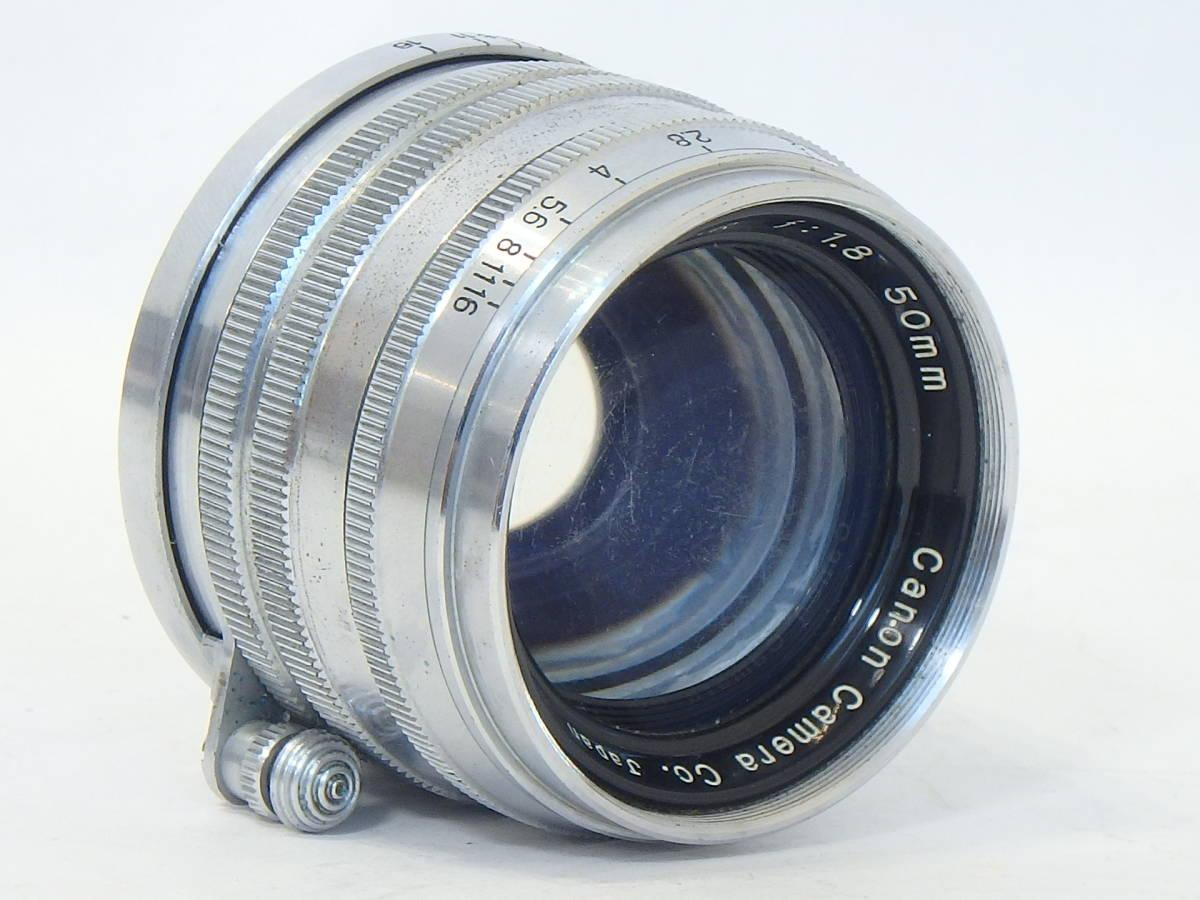 Canon SERENAR 50mm F1.8 for LEICA screw L39 希少なセレナ―レンズ!SUMMICRON に匹敵 価値あるオールドキヤノンをコレクションに!_画像6