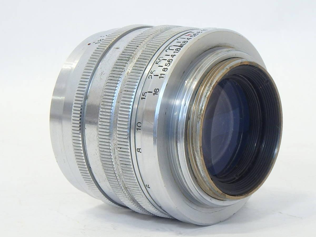 Canon SERENAR 50mm F1.8 for LEICA screw L39 希少なセレナ―レンズ!SUMMICRON に匹敵 価値あるオールドキヤノンをコレクションに!_画像7