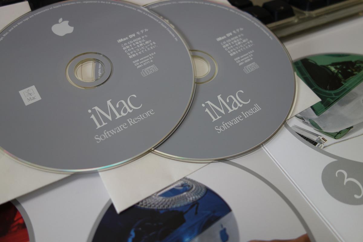 iMac DV+ (450MHz PowerPC G3) Sage _画像6