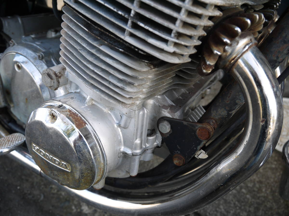 ホンダ CB750K0 車検3年付 現状販売 バイク店出品 k1k2k3k4k5k6k7_画像7