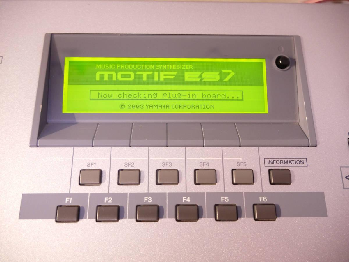 ★★★YAMAHA/ヤマハ MOTIF ES7 76鍵 シンセサイザー 送料無料!! ハードケース付き★★★_画像6