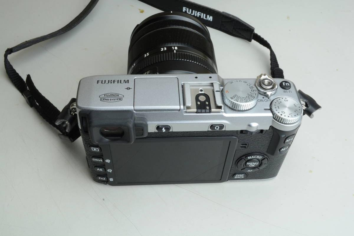 FUJIFILM X-E2 レンズキット シルバー 富士フィルム_画像2