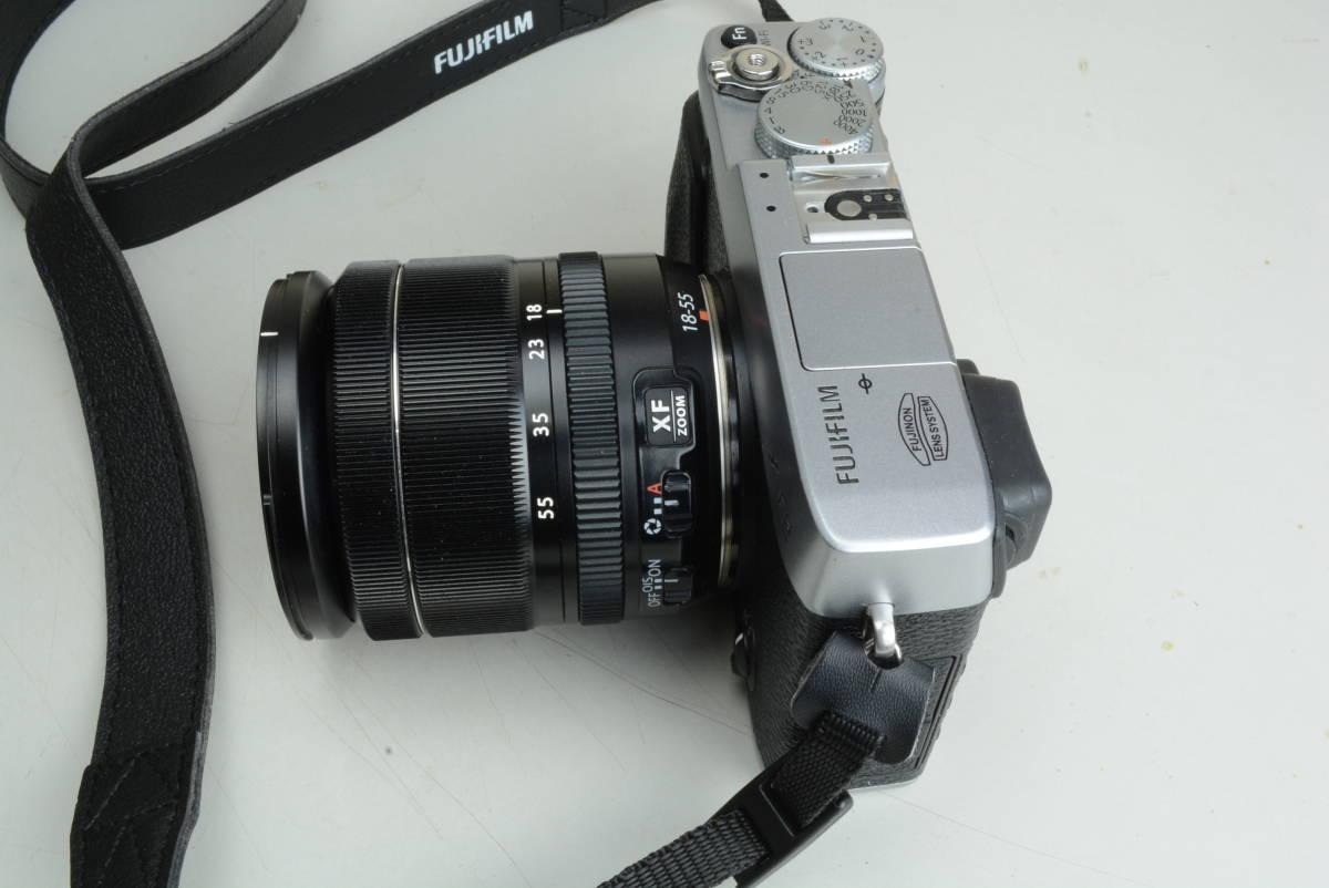 FUJIFILM X-E2 レンズキット シルバー 富士フィルム_画像3