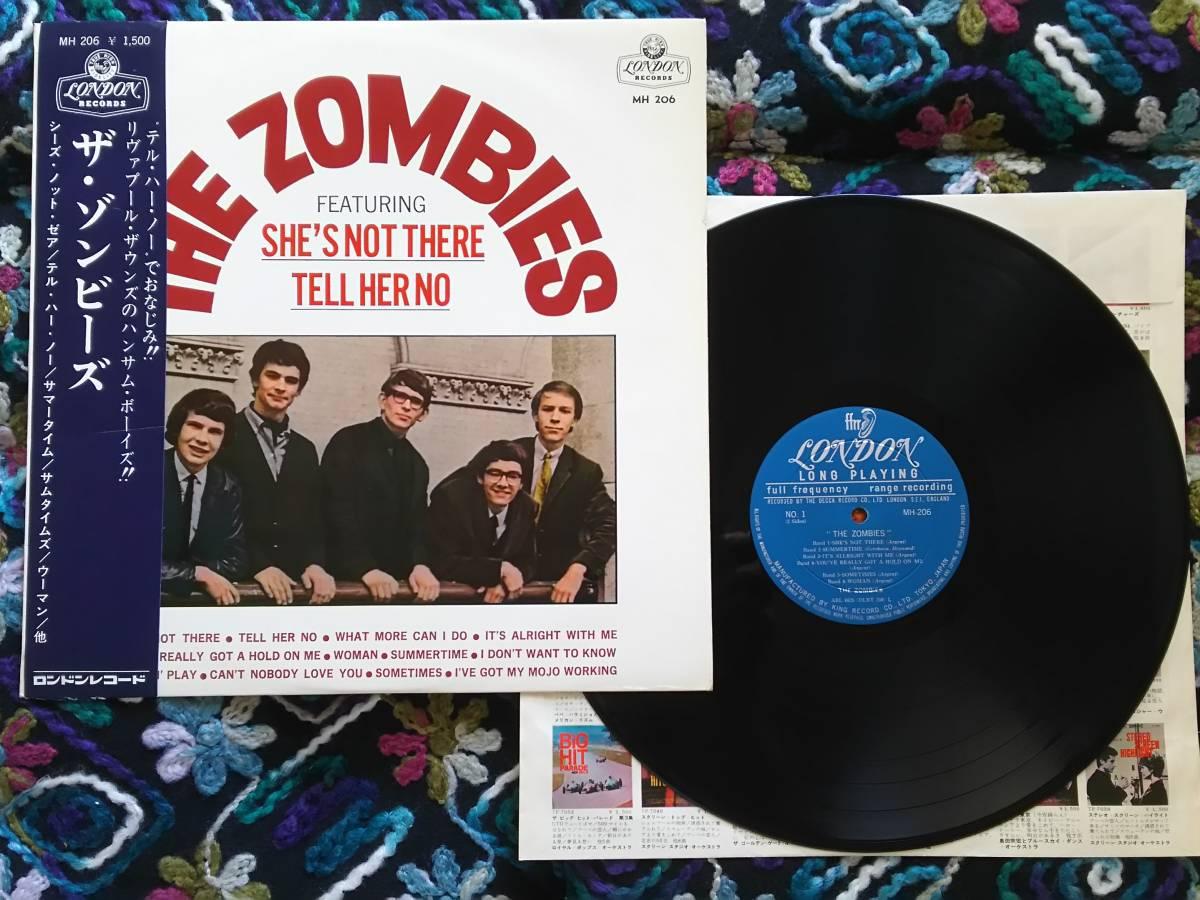 【帯付き・稀少盤】ザ・ゾンビーズ  ザ・ゾンビーズ/THE ZOMBIES  初版LP  MH 206/LON