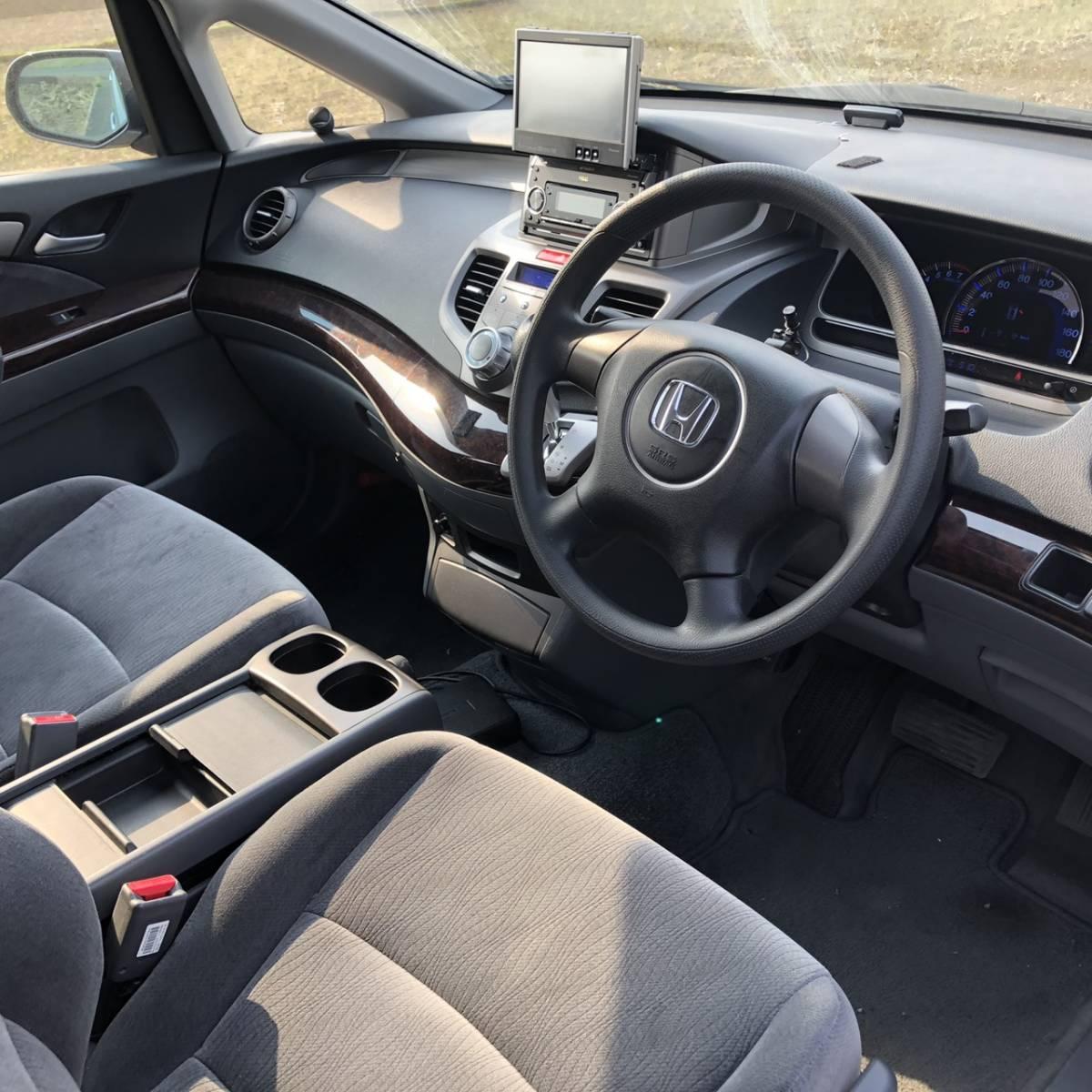 【★1円スタート★ 】 車検令和2年3月 オデッセイ 4WD RB2 ETC スマートキー_画像5