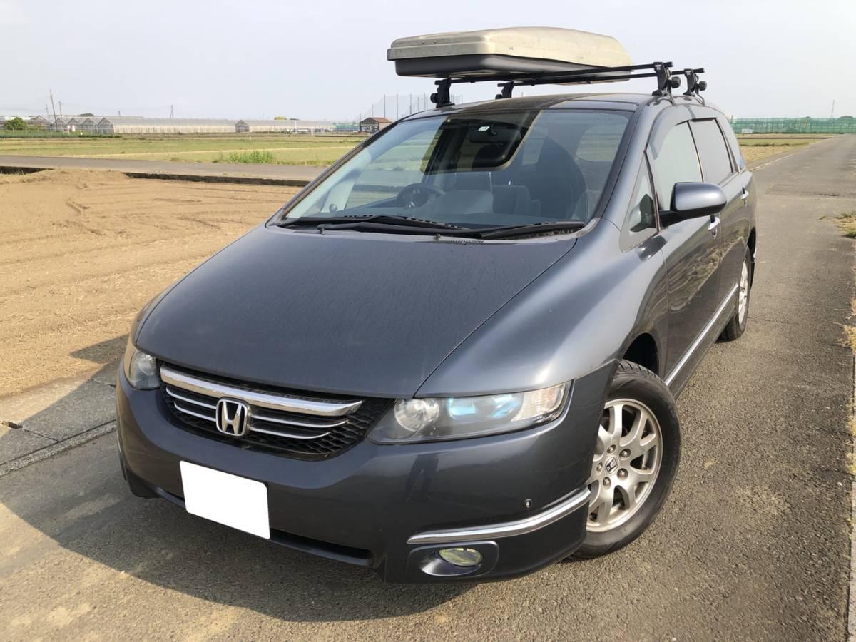 【★1円スタート★ 】 車検令和2年3月 オデッセイ 4WD RB2 ETC スマートキー_画像2