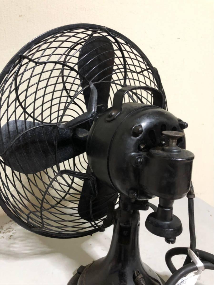 レトロ 芝浦 扇風機 可動品_画像4