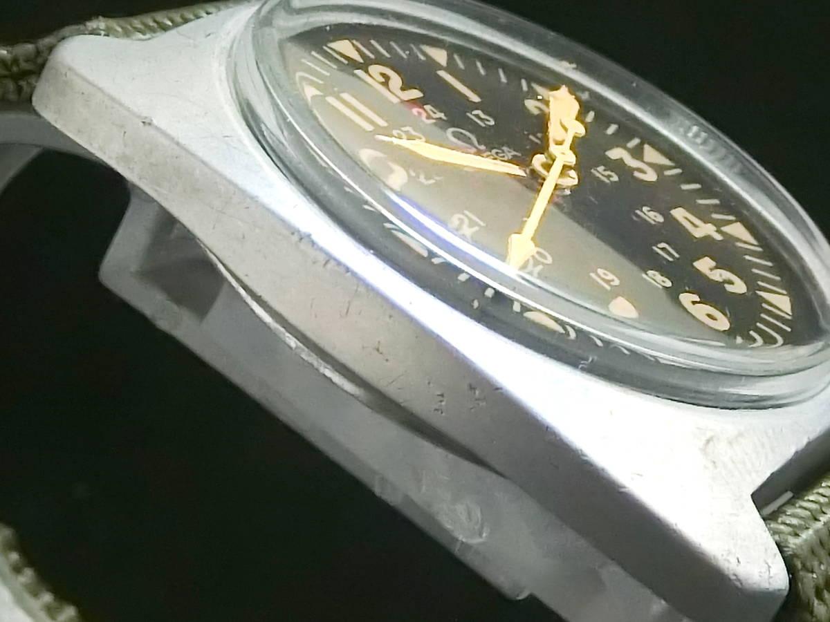 ★逸品 英国 軍用時計★OMEGA オメガ★ブロードアロー イギリス軍 官有物 ミリタリー ★アンティーク 腕時計 手巻き 動作品★_画像6