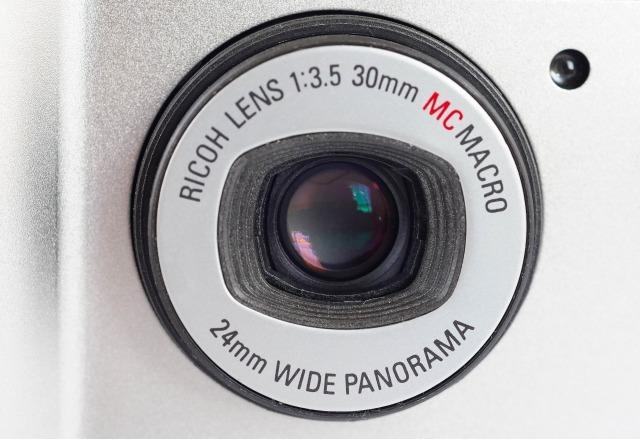 リコー (RICOH) R1s (プラチナムシルバー) 【フィルムカメラ】 (外観きれいな状態・要モルト交換)_画像5