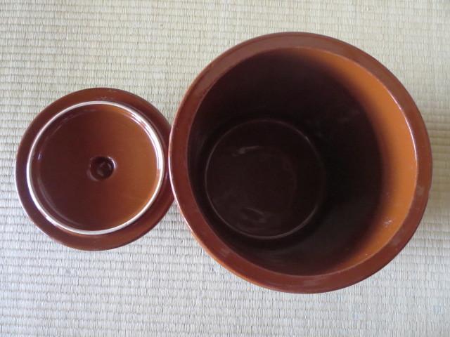 ☆久松窯 蓋付かめ 内径23.5・外径27.5・深さ24㎝_画像3