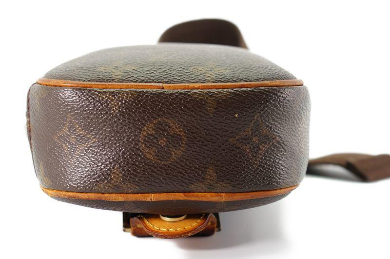 ルイヴィトン Louis Vuitton モノグラム ガンジュ M51870 ボディバッグ ワンショルダー ポシェット 定価約12.3万 _画像5