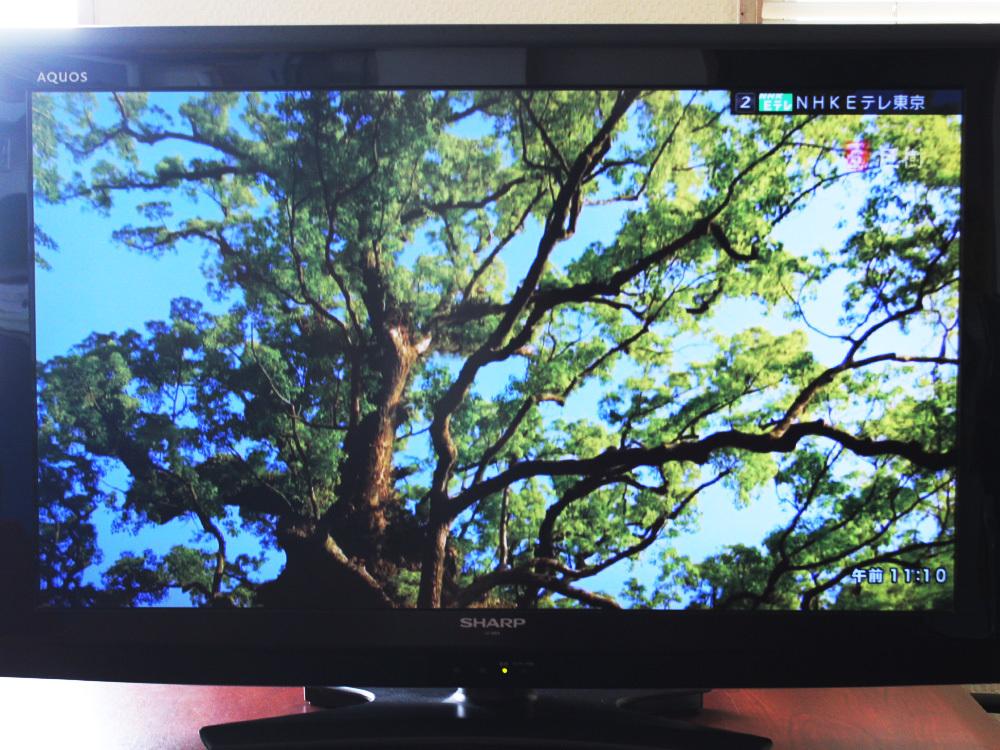 【1円出品】SHARP シャープ AQUOS アクオス 12年製 32V型液晶テレビ LC-32E9 地上/BS/110度CSデジタルハイビジョン 中古※動作確認済み