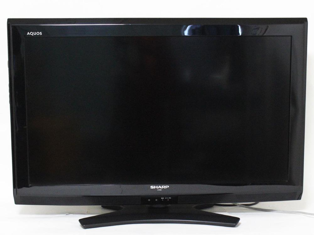 【1円出品】SHARP シャープ AQUOS アクオス 12年製 32V型液晶テレビ LC-32E9 地上/BS/110度CSデジタルハイビジョン 中古※動作確認済み_画像2