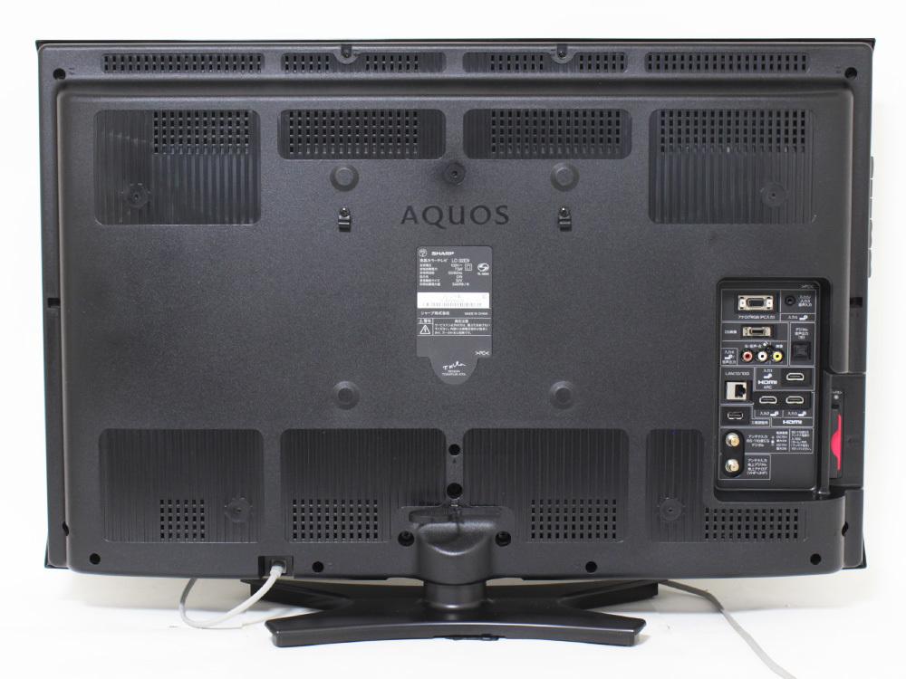【1円出品】SHARP シャープ AQUOS アクオス 12年製 32V型液晶テレビ LC-32E9 地上/BS/110度CSデジタルハイビジョン 中古※動作確認済み_画像3