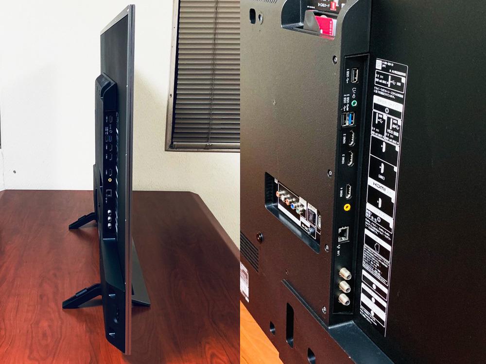 【1円出品】美品 SONY ソニー 16年製 BRAVIA 49型 KJ-49X8300D 4K デジタルハイビジョン液晶テレビ シルバー 中古 動作確認済み 直接渡しOK_画像3