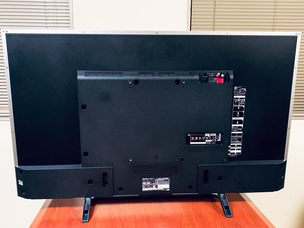 【1円出品】美品 SONY ソニー 16年製 BRAVIA 49型 KJ-49X8300D 4K デジタルハイビジョン液晶テレビ シルバー 中古 動作確認済み 直接渡しOK_画像4