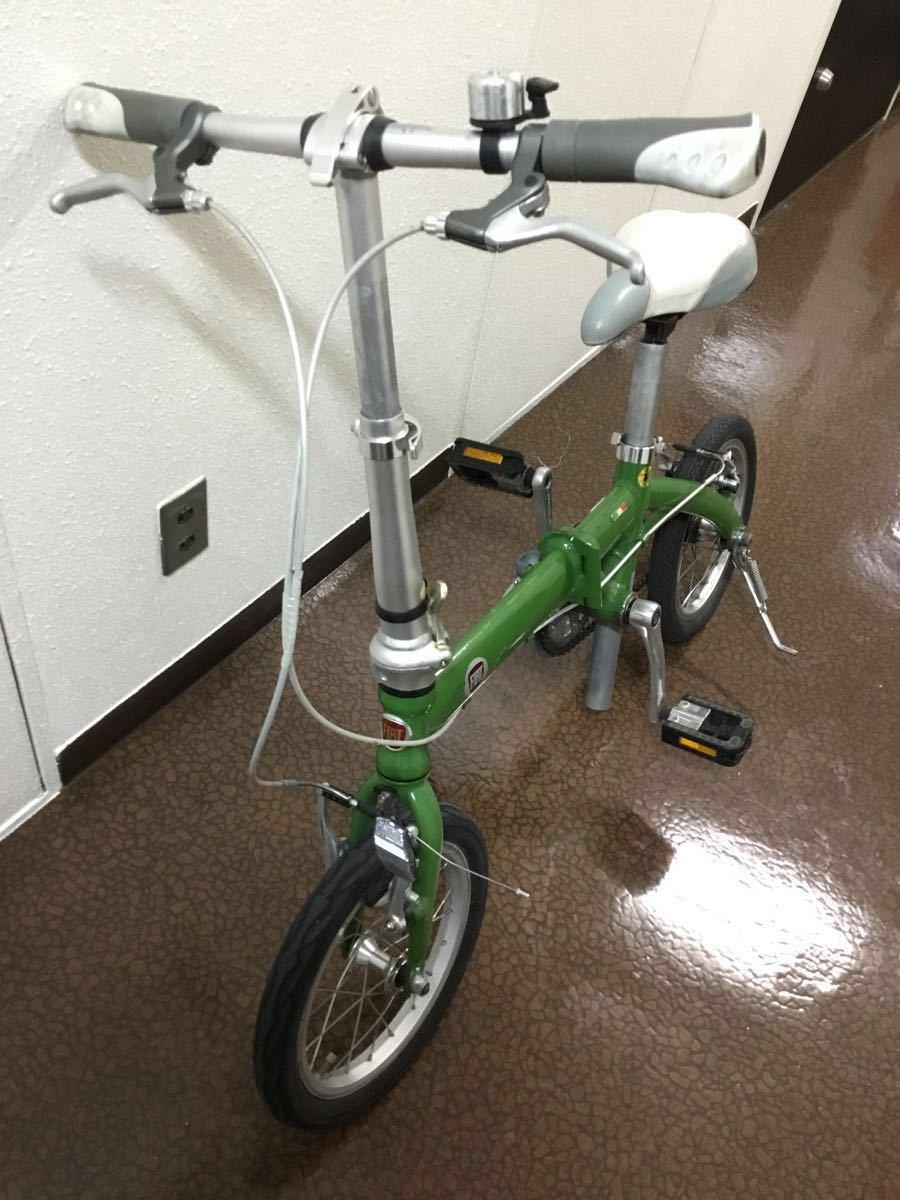 FIAT フィアット 折り畳み自転車 14インチ_画像2