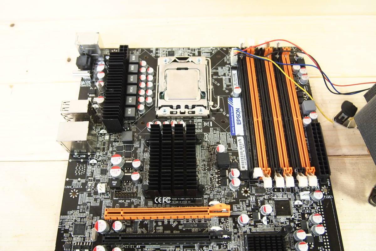 ◇EPSON エプソン Core i7-980 マザーボード CPUセット_画像4