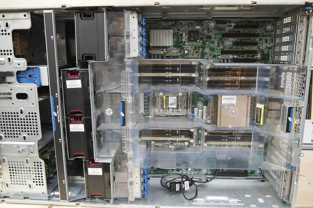 ◆HP ProLiant ML 350P Gen8 XEON E5-2609 BIOS起動OK サーバーPC②_画像7