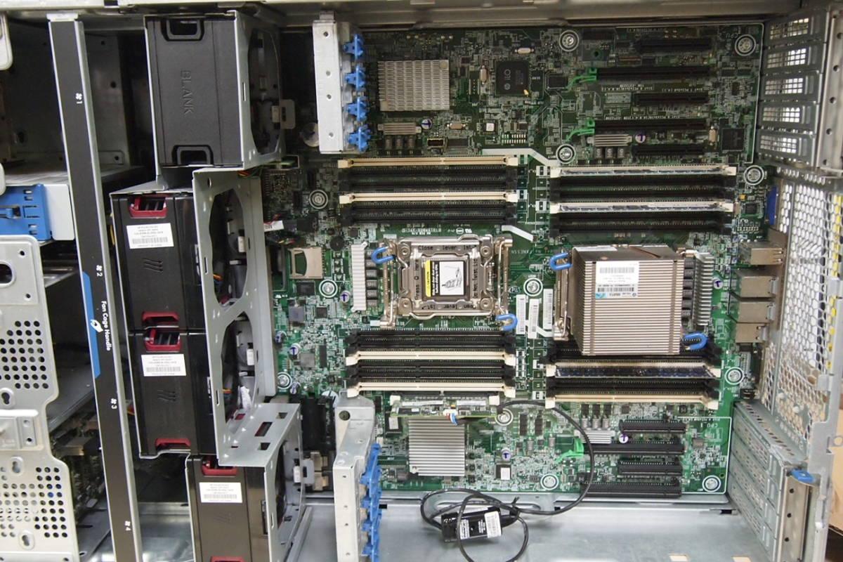 ◆HP ProLiant ML 350P Gen8 XEON E5-2609 BIOS起動OK サーバーPC②_画像8