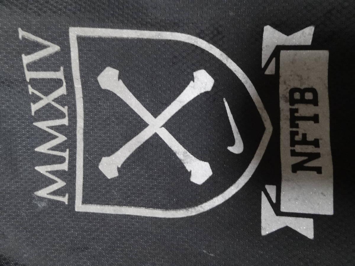 ナイキ NIKE NFTB ピステ トレーニングウェア ジャケット プラクティス 長袖 ジュニア S 140cm 黒 ブラック 送料185~_画像5