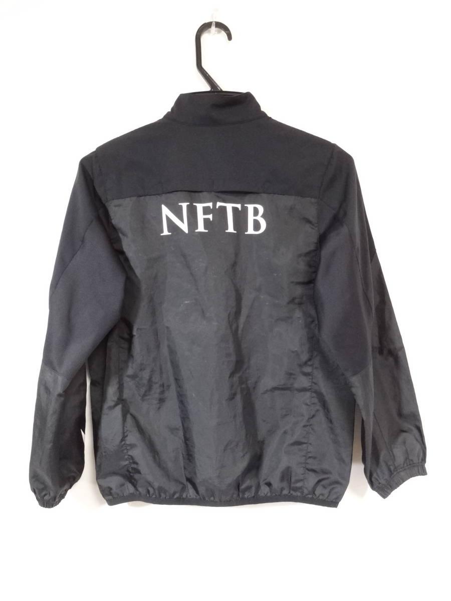 ナイキ NIKE NFTB ピステ トレーニングウェア ジャケット プラクティス 長袖 ジュニア S 140cm 黒 ブラック 送料185~_画像2