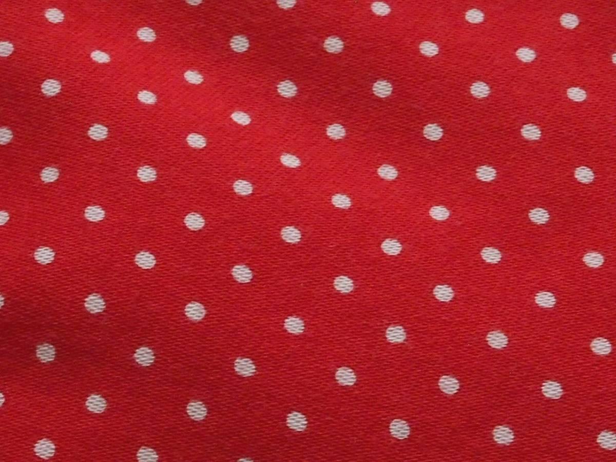 ビンテージ 90's U.S.A製【GITMAN BROS】ギットマン ブロードコットン ボタンダウンシャツ◇ドット水玉柄◇color[Dark Red]size[M]極上美品_画像10