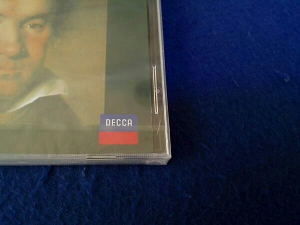【新品未開封】フリードリヒ・グルダ(p) CD ベートーヴェン:ピアノ協奏曲第3番&第4番_ケース割れ有り。