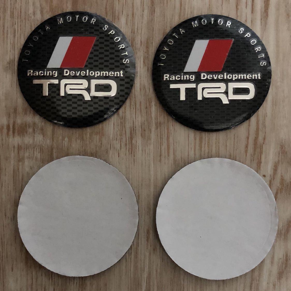 トヨタ TRD ホイールセンターキャップ 4枚セット_画像2