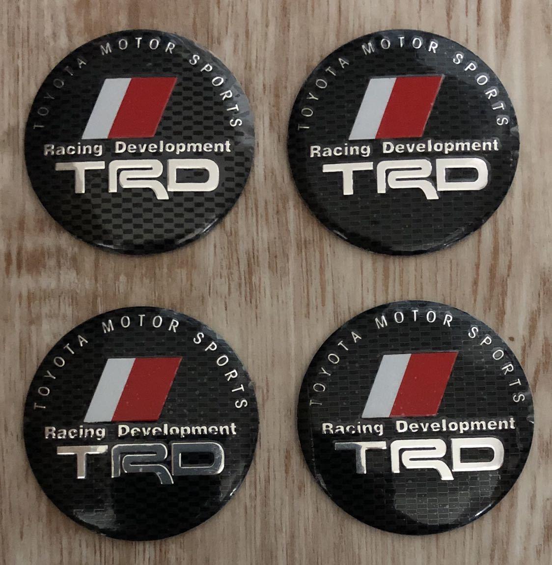 トヨタ TRD ホイールセンターキャップ 4枚セット