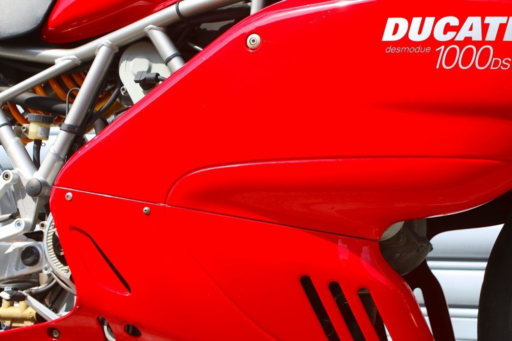 DUCATI SS1000DS デュアルスパーク/ドゥカティ/ノーマル車両/空冷デスモ/写真50枚以上掲載/オーリンズ_画像7
