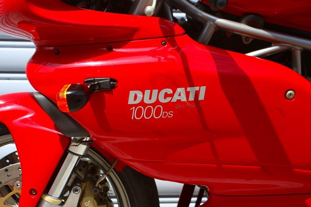 DUCATI SS1000DS デュアルスパーク/ドゥカティ/ノーマル車両/空冷デスモ/写真50枚以上掲載/オーリンズ_画像8