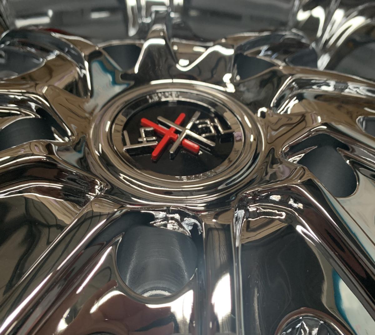 激深リム135mm LEXXEL Fury フューリー ランクル ランドクルーザー200系/100系,LX570,セコイア,タンドラ 輸入タイヤ 295/35R24 24インチ_画像3