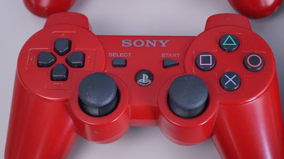 G36 PS3 デュアルショック3 コントローラ 18点 ケーブル 7本セット まとめて品 ジャンク_画像5