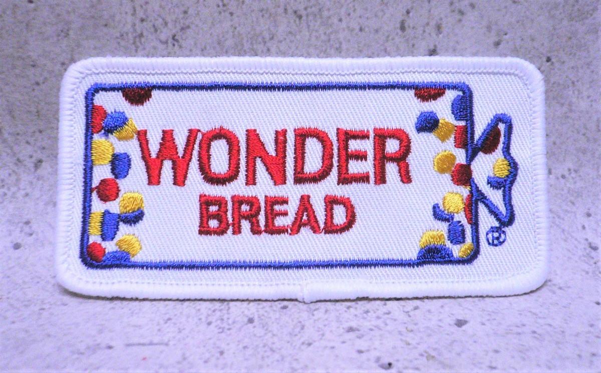 刺繍 パッチ ワッペン ワンダー・ブレッドWONDER BREAD 郵送 [即落札]_画像2