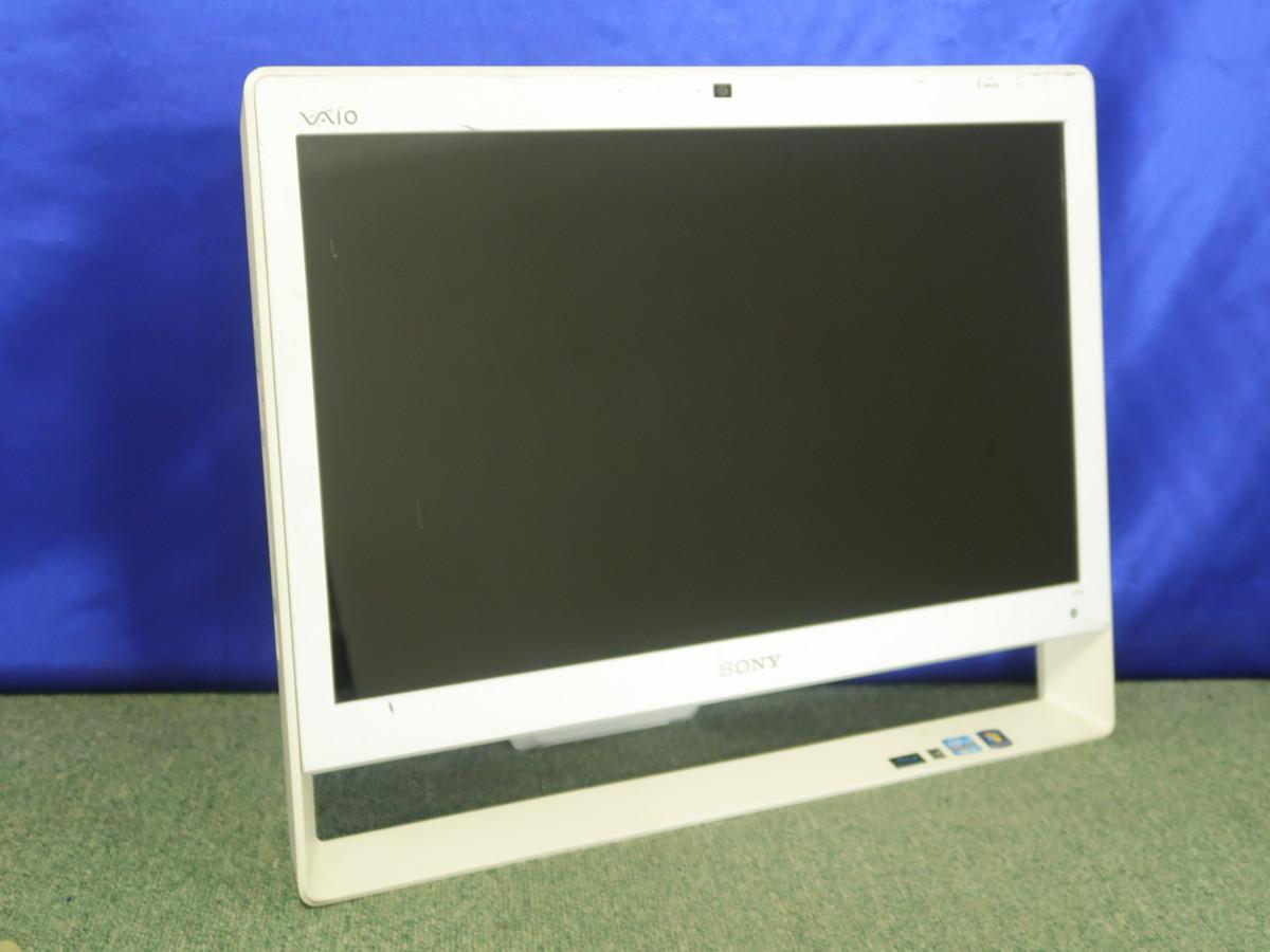 SONY VAIO VPCJ248FJ Core i5-2450M 2.5GHz 2GB ブルーレイ 一体型 ジャンク A35526