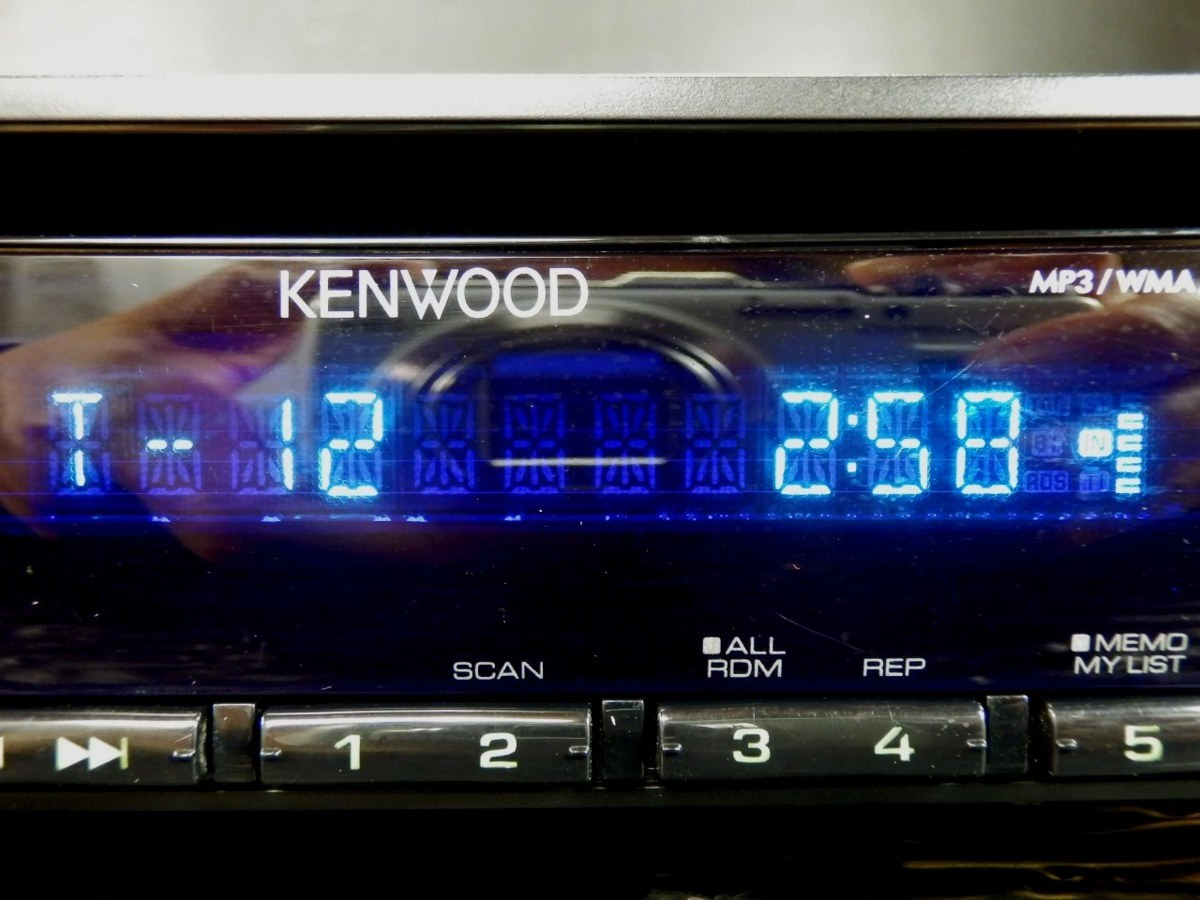 ◆◆ケンウッド KENWOOD U363 CD フロントUSB/AUX iPod対応 1DIN 31396◆◆_CD
