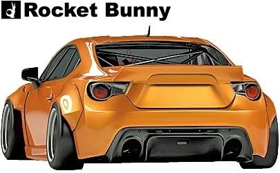 【M's】トヨタ 86 / スバル BRZ (ZN6/ZC6) Rocket Bunny Ver.2 ワイドボディキット 9点セット//FRP製 TRA京都 ロケットバニー ロケバニ_画像4