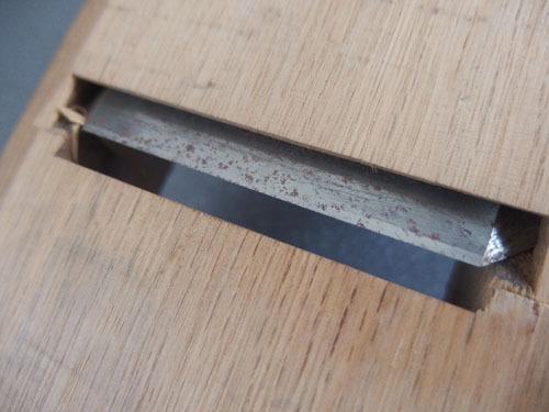 590344a【大工道具 鉋『マキタ』】かんな/カンナ/古道具/27.5×8.5×H7.5cm程/刃幅 6.5cm/中古品_画像6