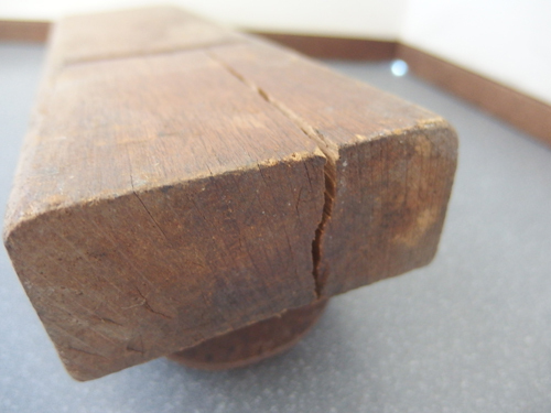 590781a【貞光 在銘 鉋】大工道具/古道具/27.3×8.1×3.7cm/中古品_画像5