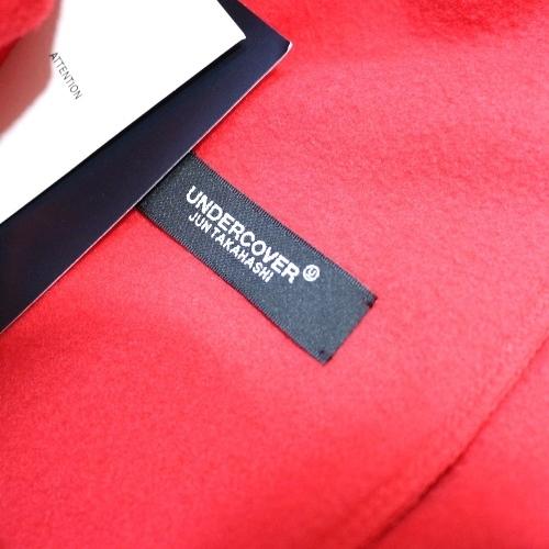 UNDERCOVER アンダーカバー 18AW フリースパンツ HAL9000 1 レッド_画像4