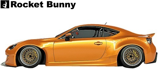 【M's】トヨタ 86 / スバル BRZ (ZN6/ZC6) Rocket Bunny Ver.2 ワイドボディキット 9点セット//FRP製 TRA京都 ロケットバニー ロケバニ_画像2