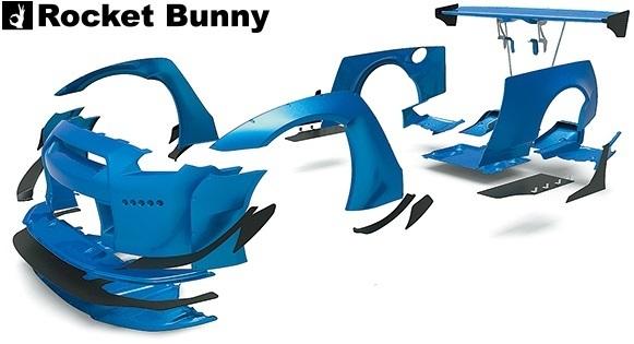 【M's】ニッサン R35 GT-R (2008y-) Rocket Bunny ワイドボディキット 15点//FRP製 GTR ロケットバニー ロケバニ エアロ コンプリートキ_画像2