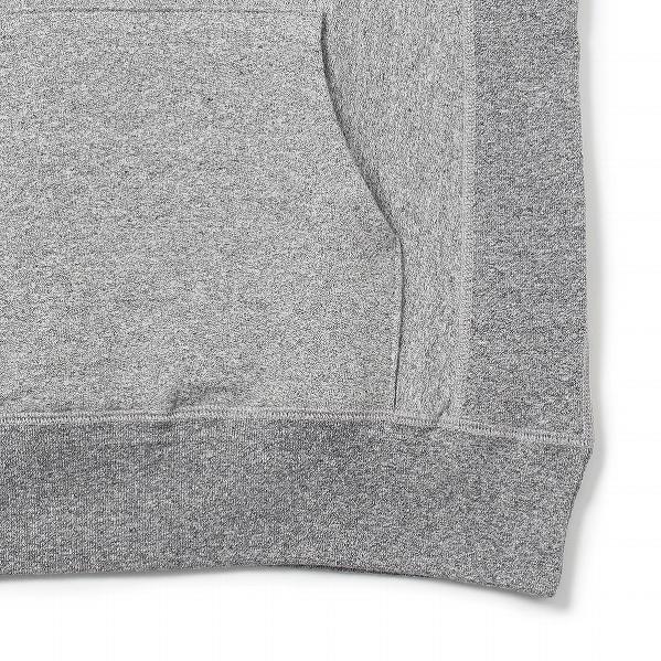 【サイズS】 カナダ製 無地 プルオーバー スウェットパーカー 霜降りグレー Classic Hooded Pullover メンズ プレーン MADE IN CANADA_画像4