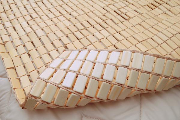 竹シーツ 140×150 ダブル ベッド 竹ラグ ラグマット 敷きパッド 冷却マット おしゃれ 夏 座椅子 暑さ対策 熱中症対策 バンブー_画像4
